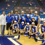 How fitting is it that Team Kentucky won our second annual Basketball Fantasy Experience? http://t.co/61oSZlL2QD