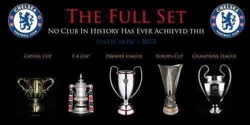Chelsea aja yg punya :D '@Hazard17_ID: Trophy trophy yg pernah chelsea raih. Bagus ini :D http://t.co/M21w67HiVR'