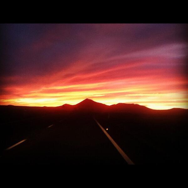 RT @adleon7: Foto del atardecer desde Sonora (México) http://t.co/BpqSRN7Fqg