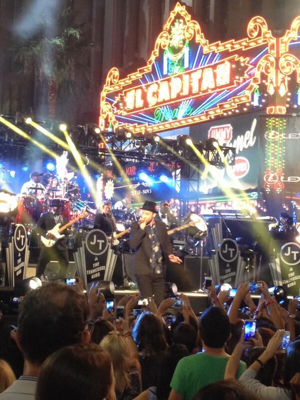 """""""We're going to have fun tonight"""" #timberlakeonkimmel http://t.co/QX6q9LTGN2"""