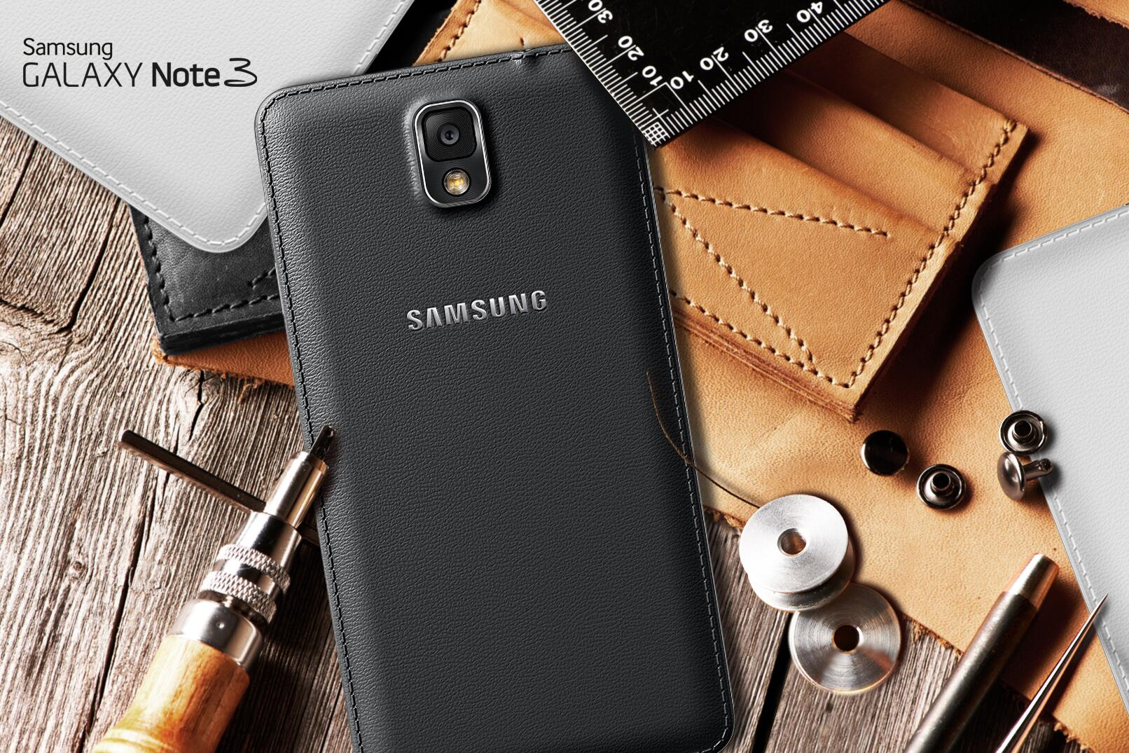 Soft, textured-touch back cover with delicate stitching. Meet the #GALAXYNote3. http://t.co/IZUkbx4mHr