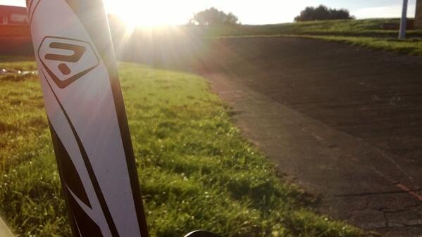 RT @DanHern95: Evening velodrome session on the @Ridley_Bikes http://t.co/6IhwB3Uxn1