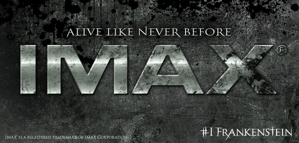 The legend is about to become even bigger. Mark your calendars: @IFrankenstein is coming to @IMAX January 2014. http://t.co/7ENUsUbMco