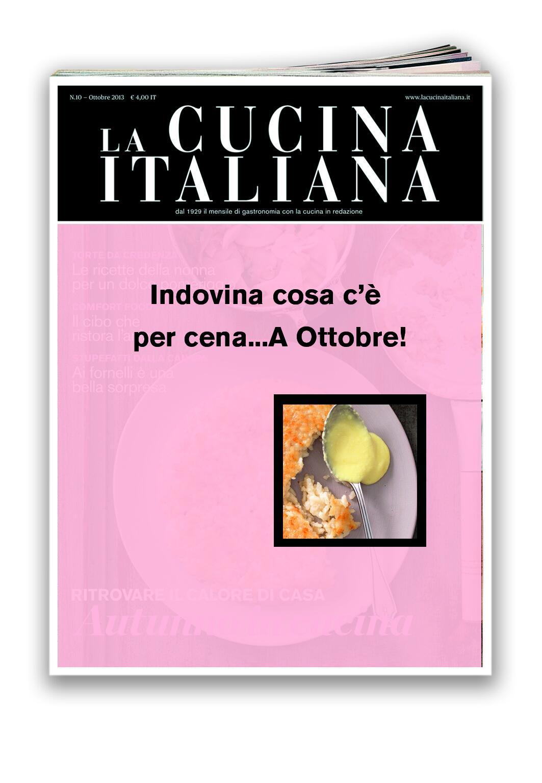 Quale sarà la ricetta di copertina di #Ottobre?? #lci #indovinacosa #cosatipreparoinedicola http://t.co/VMBH9qYufQ