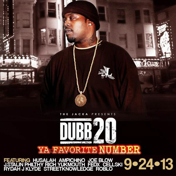 "*ONLINE & IN STORES 9/24* @theJacka PRESENTS: @DubbTwoZero ""Ya Favorite Number"" #2GunMusic #TheAR #MOB http://t.co/28ViFxK8oH"