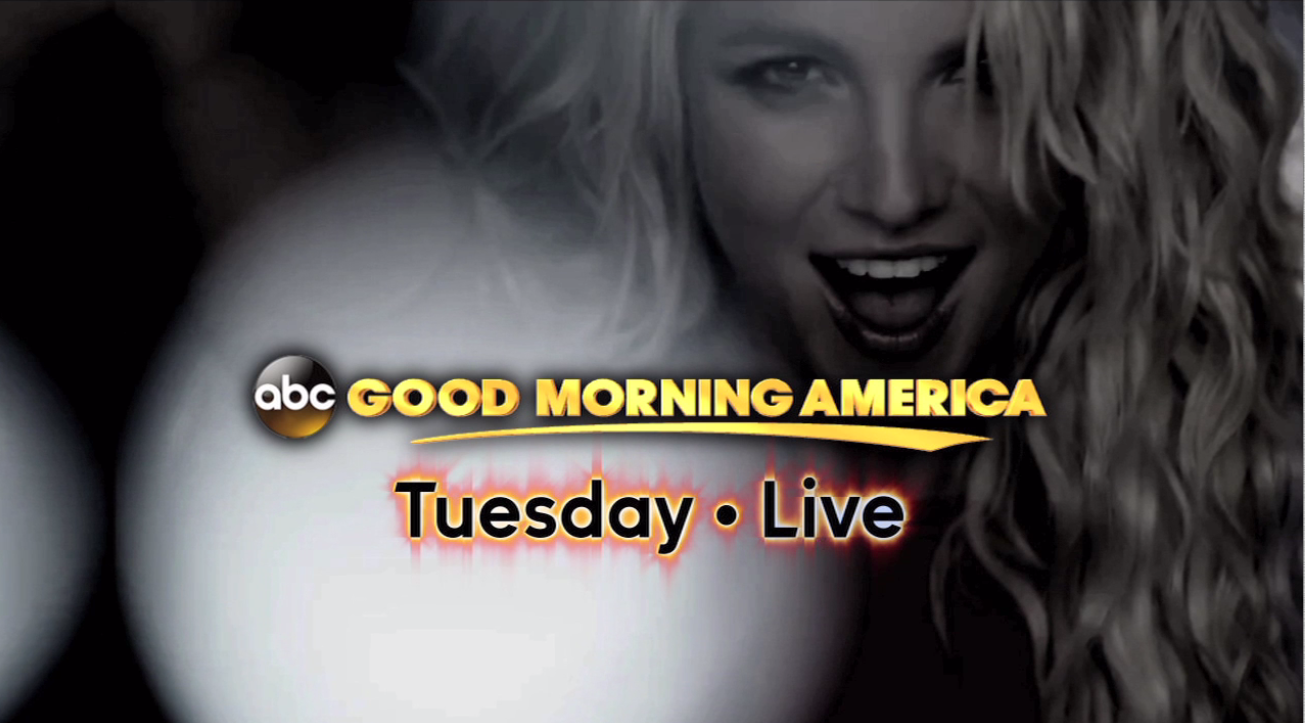 RT @GMA: In 4 days: #BritneyOnGMA http://t.co/us22eFXe21
