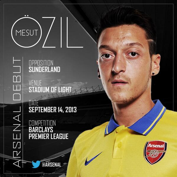 .@MesutOzil1088 made his #Arsenal debut this afternoon. What did you make of our club-record signing's performance? http://t.co/NqkiFgW3ss