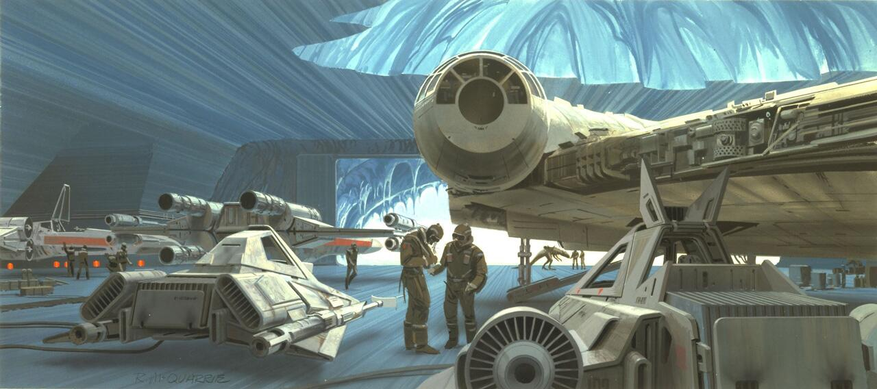 #McQuarrieMonday - If you leave the Wampa door unlocked one more time... you're outta here. http://t.co/mPONk4aHDe