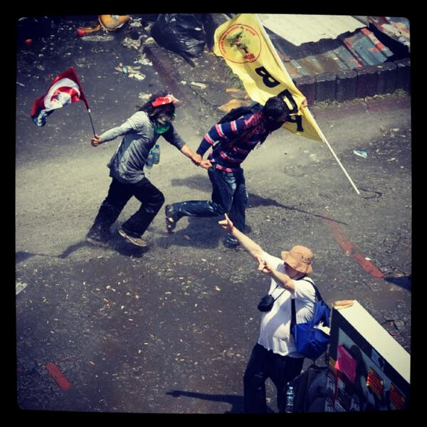 A hashtag to collect memorable images from #OccupyGezi : #GeziOlaylarındanUnutulmazKareler