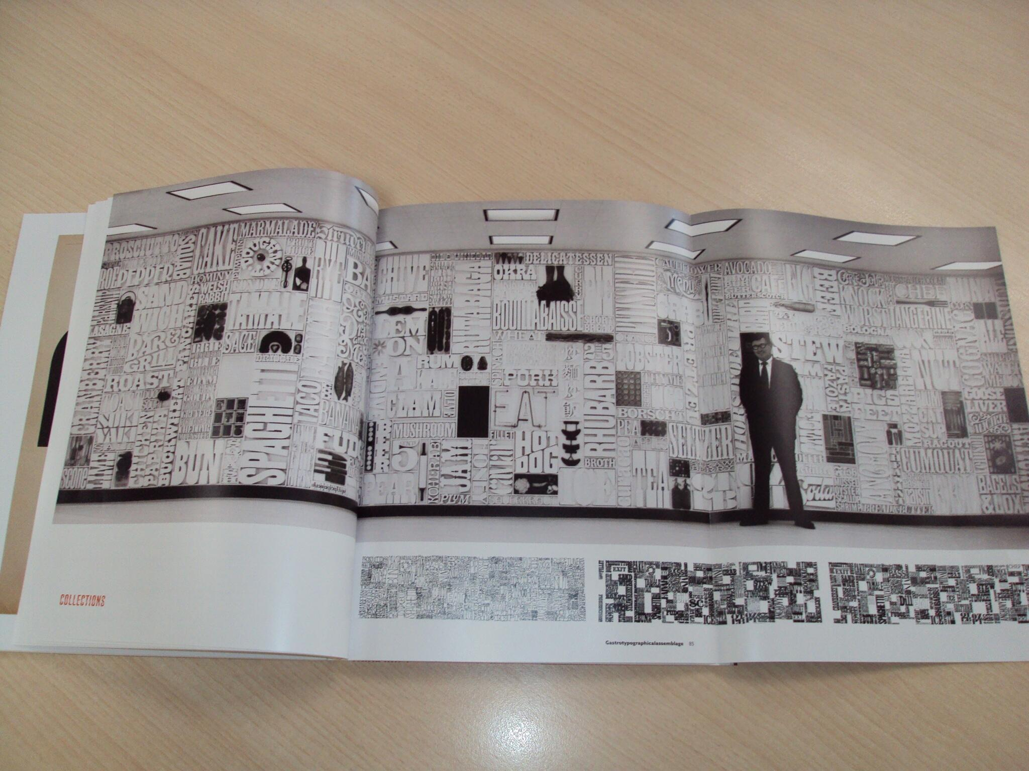 The Gastrotypographicalassemblage foldout in issue #3 of Codex magazine http://t.co/5Vx6maijd1