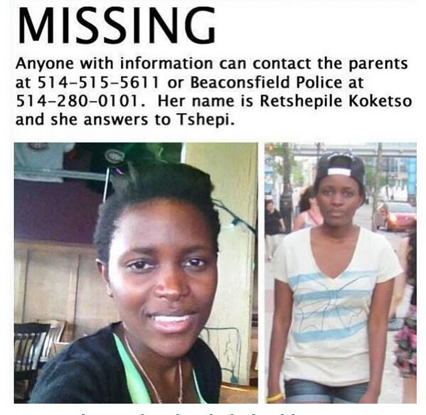 Please share or retweet! She is a student at my school and been missing since Friday. http://t.co/FPumnp7Ov1