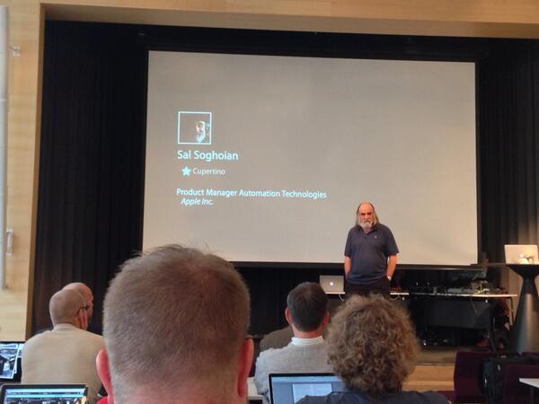 Doctor Finder! (@drfinder): Sol contando um pouco da história de Steve Jobs e Automator #macsysadmin http://t.co/okc2MM2xIC