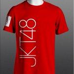 [READY STOCK] KAOS JKT48 RED #2   HARGA 80K (free sticker)   INFO PEMESANAN 085726803784 http://t.co/hk9MHRRxI3