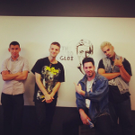 Thanks @SoSoGlos for stopping by Pandora Oakland today. http://t.co/pBIWyMTYvt