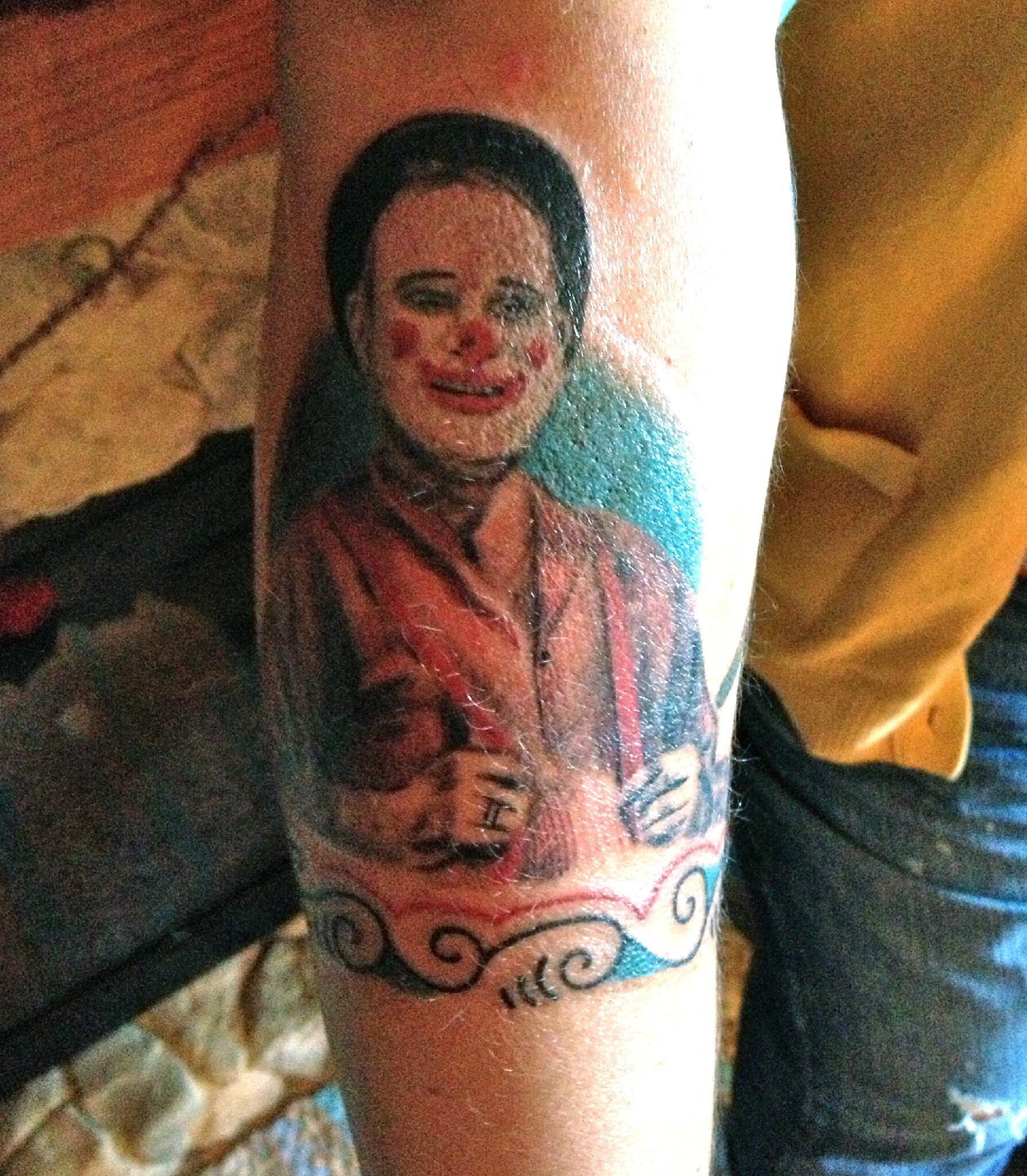 """Wow… any other Fratellis tattoos out there!? """"@stripedmama: @NickNevern  captured want i wanted, perfectly! http://t.co/EDU3GUKw9D"""""""
