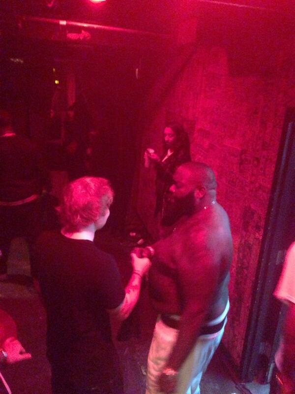 The meeting of the minds @edsheeran & @rickyrozay #MMG #SelfMade3 http://t.co/7y0L2uBpqE