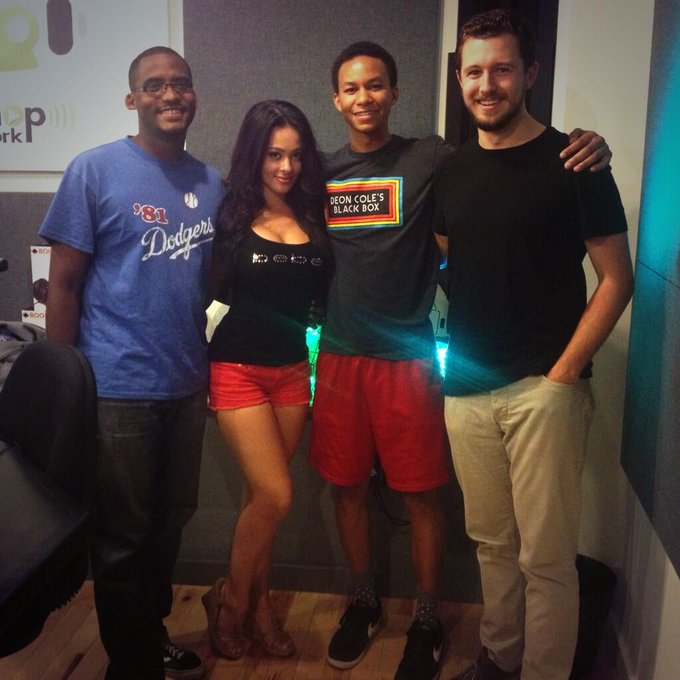 RT @Chris_please: Fun @WhatsGoodPod today w/ @MissAshleyDoris @WillHunterShow @stuartbthompson #blueshirts