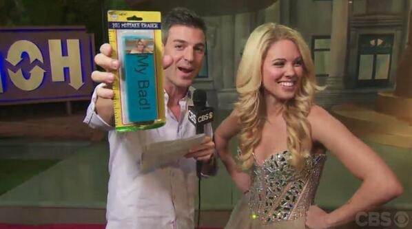 "Jeff got Aaryn a giant eraser with ""My Bad"" written on it! #bb15 hahahahhahah! http://t.co/eXMuCjPaHJ"
