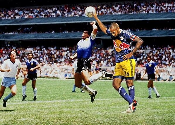 BUjlEDSCIAErDxC #Henrying: Memes of Arsenal & NYRB star Thierry Henry go viral [Pictures]