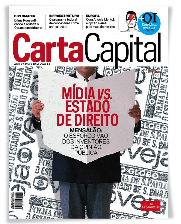 Aqui a capa de CartaCapital que fechamos agora e começa chegar às bancas e tablets de todo Brasil nesta sexta-feira http://t.co/Zo0vZlnxPd