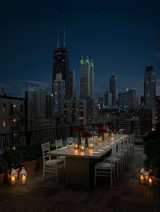 Cena en Chicago. http://t.co/dIg66cPwzm