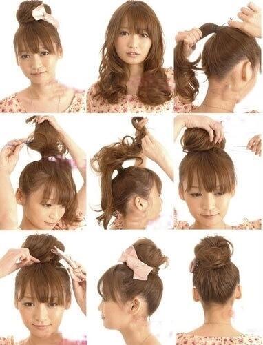 tatanan rambut panjang