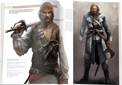 "#ACIV Black Flag Collector's guide sneak peek! ""Cast & Locations"" section with concept art tour of the ACIV world. http://t.co/6xRQfV9zjj"