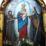 Hermosa imagen de la Chinita en la Iglesia de la Florida, Caracas http://t.co/IwVCWBe8Fk #Bajada2014