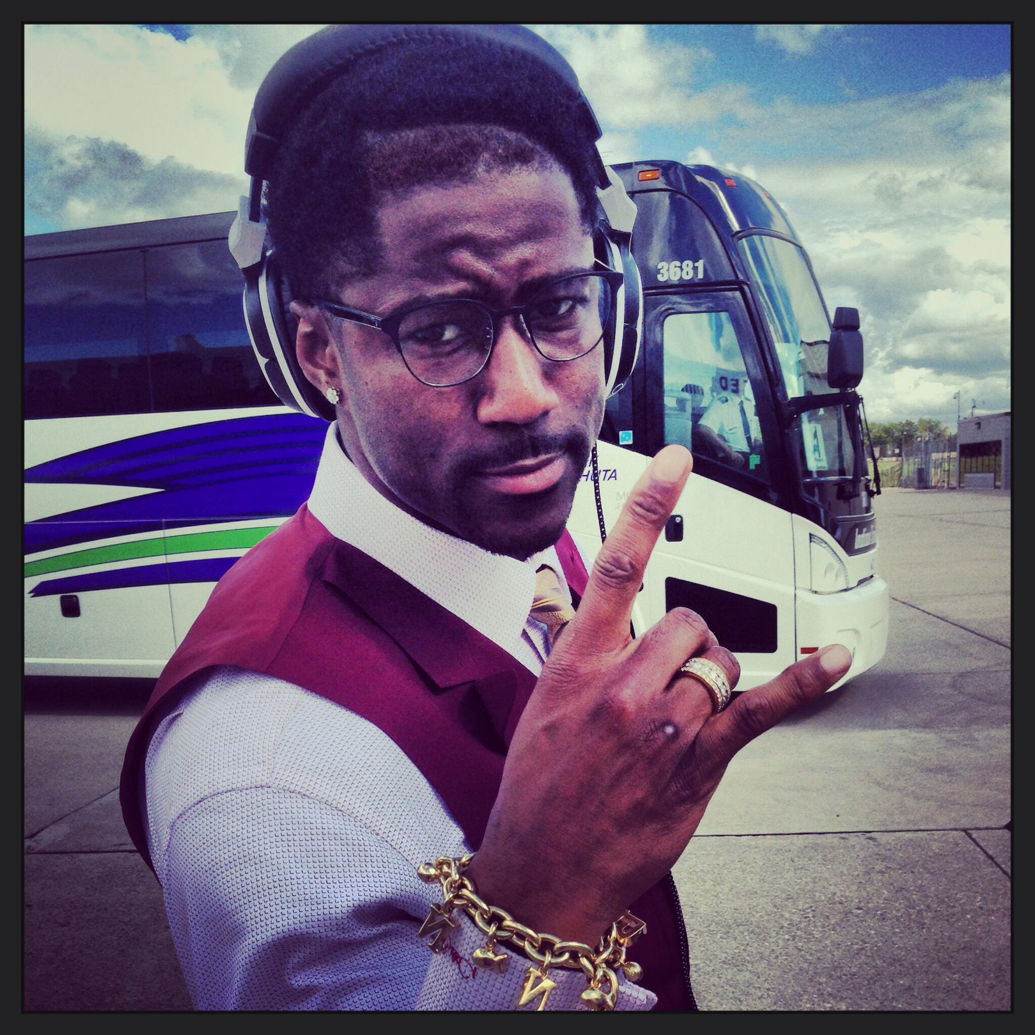 Headed to DC! @Nate13Burleson #DETvsWAS #OnePride http://t.co/hCbR5XXYj7