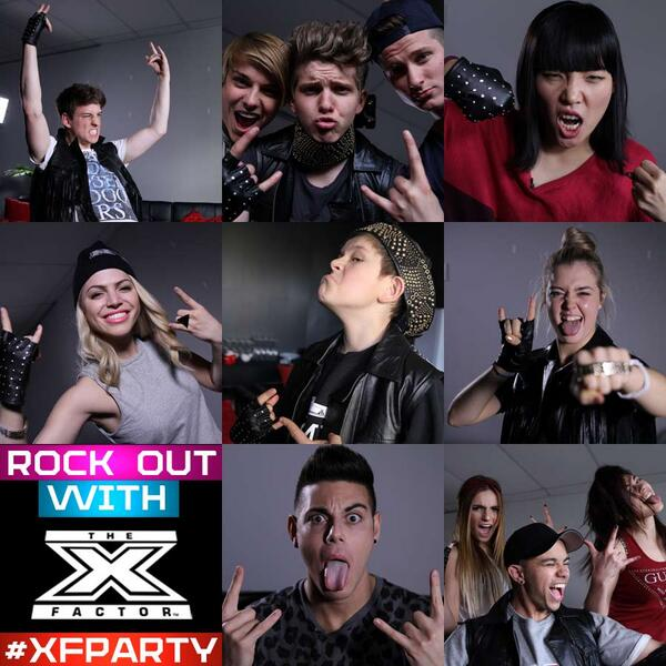 Who's having an #XFParty for #xfactorau tonight?! Hashtag a picture of your best rock pose #XFParty! http://t.co/Fvi1brZoQo
