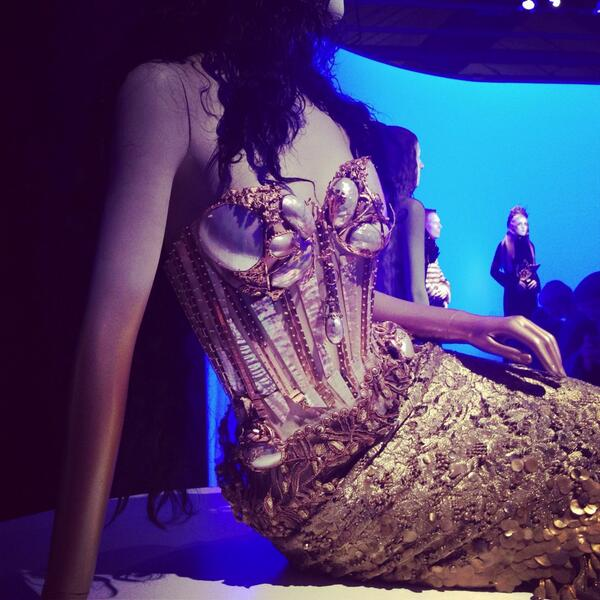 RT @elsoolsson: Last day of @JPGaultier exhibition in  Stockholm, you guys MUST see it! Most amazing thing ever! http://t.co/MhLRikzyoN