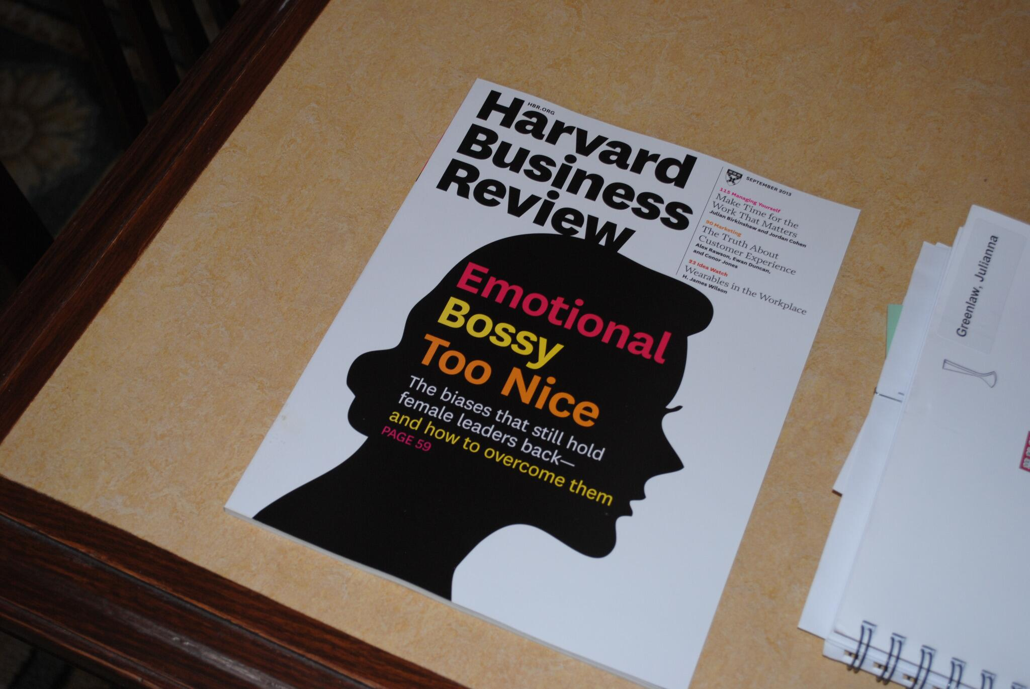 """Reason #132 why #HBSreunion2013 is awesome? Complimentary issues of @HarvardBiz at """"Women's Networking Breakfast!"""" http://t.co/KatHxwe41l"""