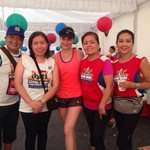 RT @gingreyes: Proud finishers w/ @annecurtissmith #kapamilya60years #onerunonephilippines http://t.co/6zcgWl7mid