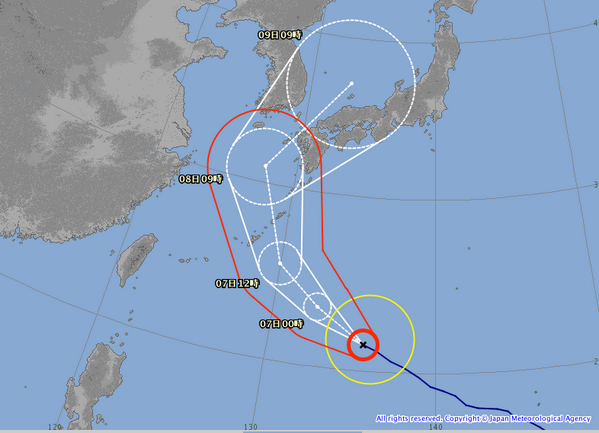 test ツイッターメディア - 【速報】台風24号の進路がやばい!! https://t.co/SVDEtDHu3R #