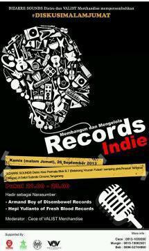 Bismillah #DISKUSIMALAMJUMAT : Membangun & Mengelola Records Indie di Bizarre Sounds | @IndraQ @diditsaad #fb http://t.co/K6JXZ8BvTJ