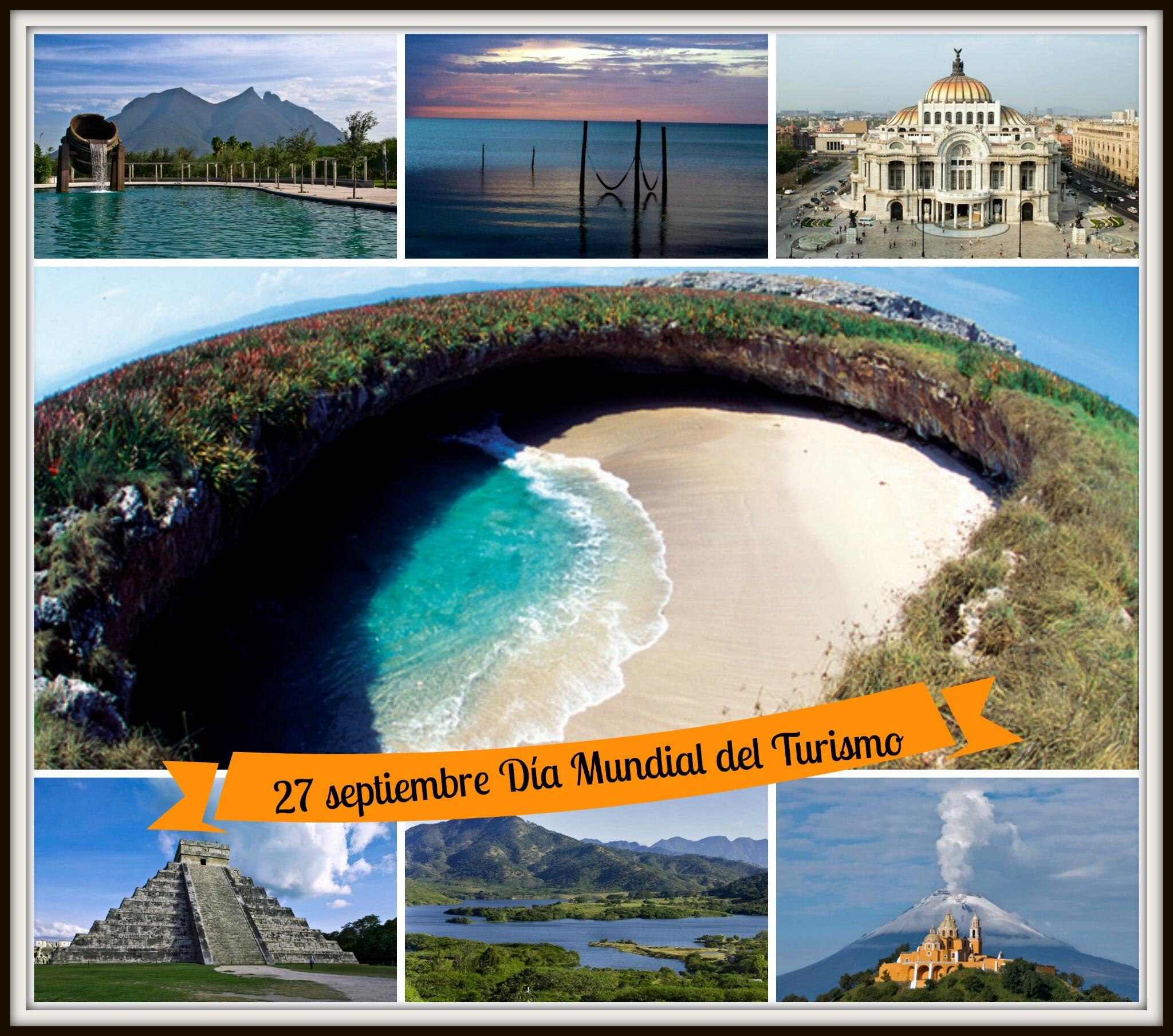 ¡Celebremos el Día Mundial del Turismo! #SabíasQue #México es uno de los países más visitados en el mundo. #DMTMX http://t.co/piWKNCKpRs