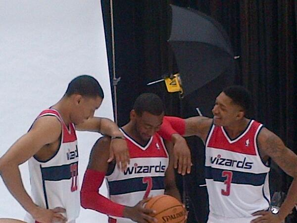 Michael Lee (@MrMichaelLee): You ready to ball, John Wall? #wizards http://t.co/I4SvC2NmLX
