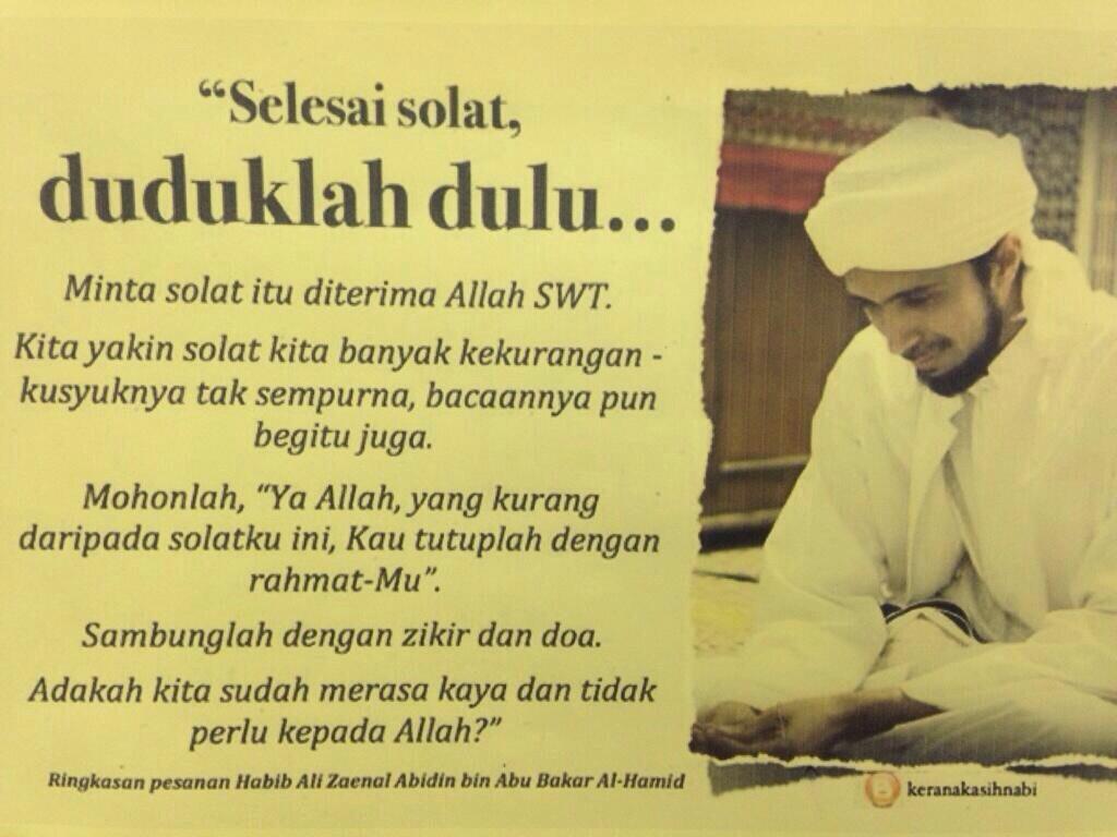 Sebarkan untuk umat Islam yang lain tahu. http://t.co/Rvp3CPHQYO