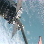 .@OrbitalSciences #Cygnus spacecraft successfully captured by #ISS crew at 7:01a.m.EDT.