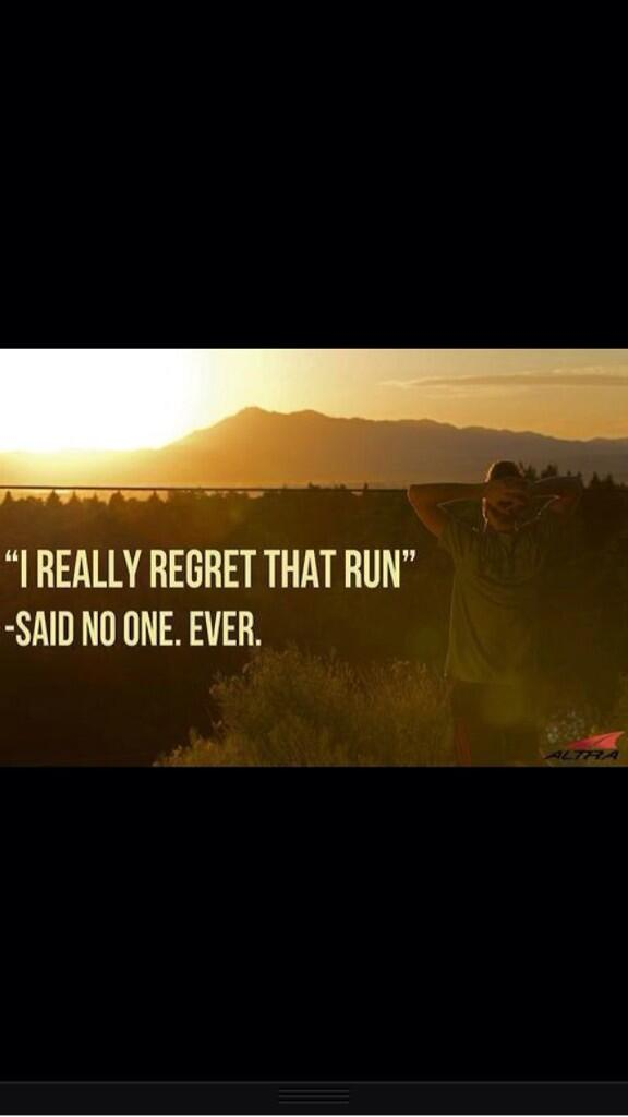 We know you didn't regret lacing up your shoes today. Tell us the best thing about your run. http://t.co/uOtuYCFGFk
