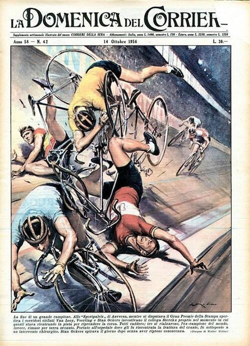 Domenica del Corriere 1956 http://t.co/ESWldP2G7C