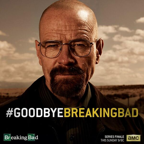 Are we sad to see Walter go? You're goddamn right. #GoodbyeBreakingBad http://t.co/RnWMgwBhf1