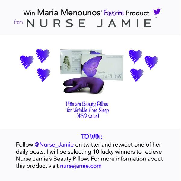 So excited for this #contest @mariamenounos! I'll be tweeting some of my fav #beautytips - Happy RTweeting! http://t.co/uJo4c5fn25