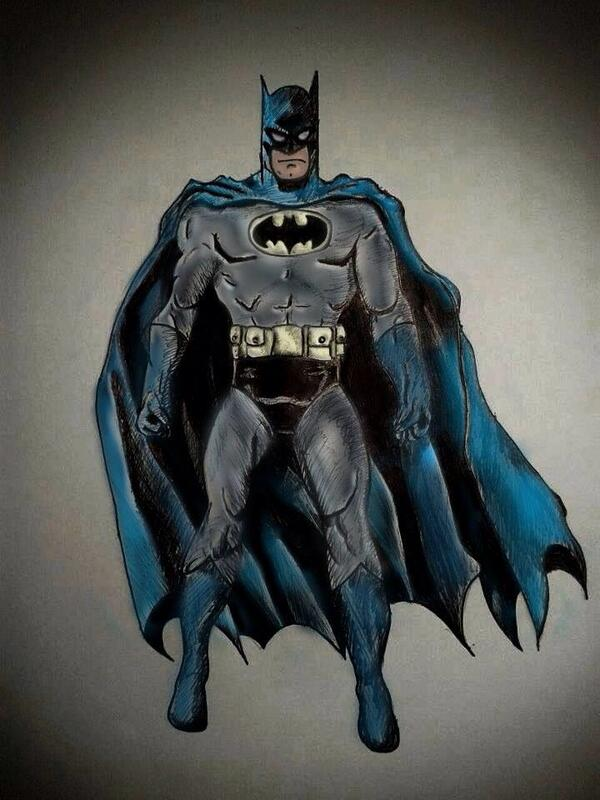 Batman by @georgiaboonn http://t.co/ohsCtwvYS3