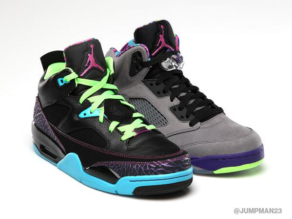 Keep your kick game fresh with our Son of Low & AJ 5 Retro looks inspired by the style of the 80s. Both drop 10/5: http://t.co/eMtvpUn8hu