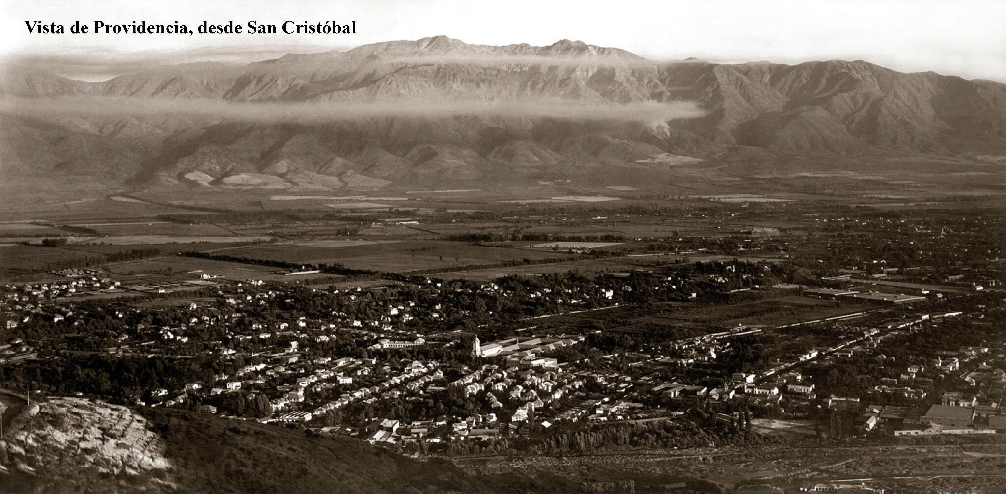 "RT @leo_rozas: ""@miplazav: #Santiago Vista de Providencia desde el C° San Cristóbal en 1900 http://t.co/hB0o7dkDap"" increible foto!"