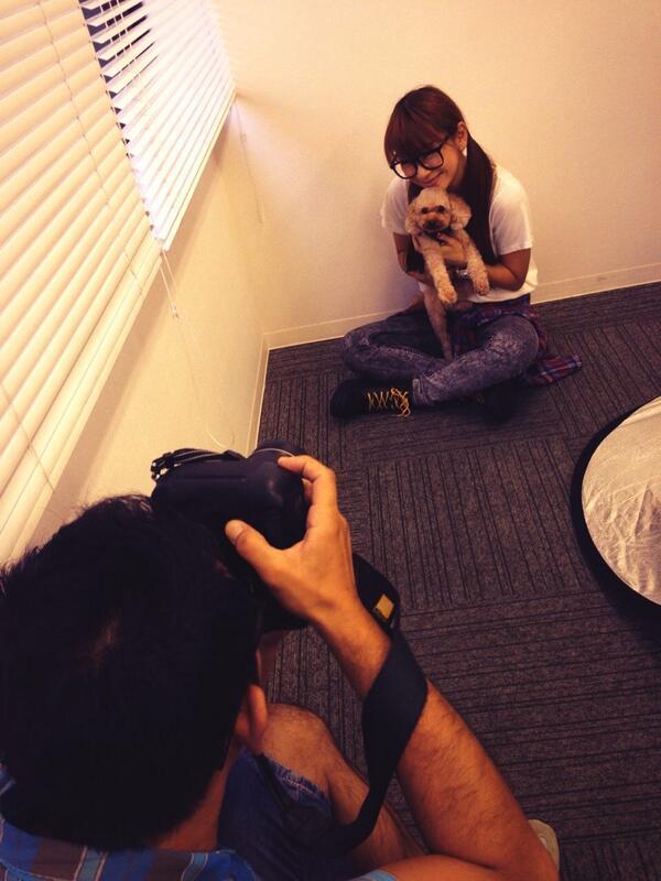 時東ぁみ (@aMITOKITO): 【拡散してほしいな♡】 明日の朝日新聞夕刊の『家族の肖像』というコーナーに愛犬チャッピーと載ります(*^^*) 息子ちゃんを見ていただけたら嬉しいです!! http://t.co/gsCpEBVhoG