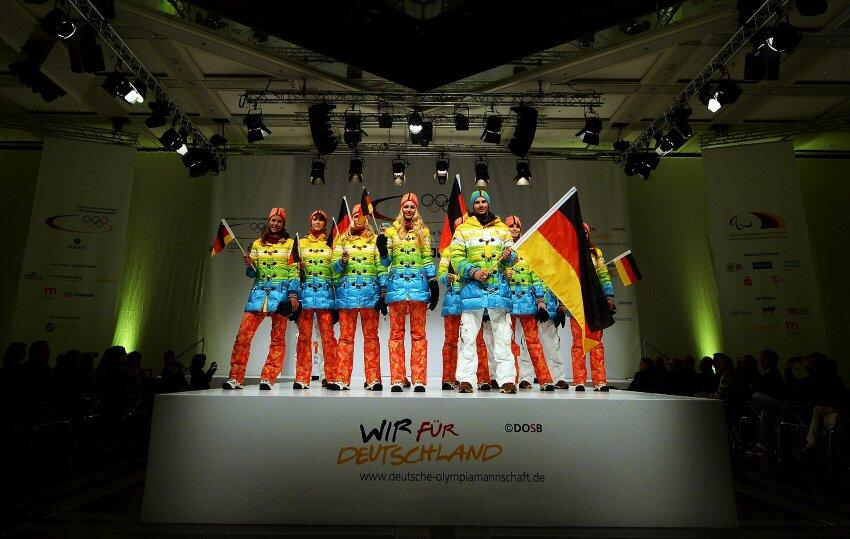 german olympic rainbow uniform