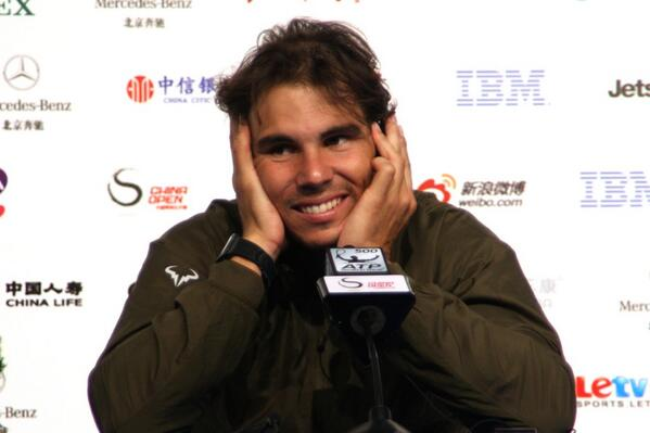 RT @natalieHOHO: Another Rafa squishy face today ;D http://t.co/ltYFbqcocL