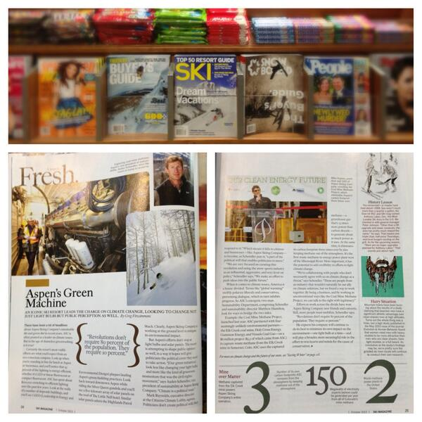 Grab @skimagonline from newsstands to learn how @AspenSnowmass is leading the green revolution. #Aspen http://t.co/87TwHMWVDL